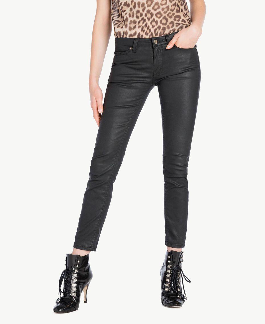 Skinny trousers Black Woman PS82KV-01