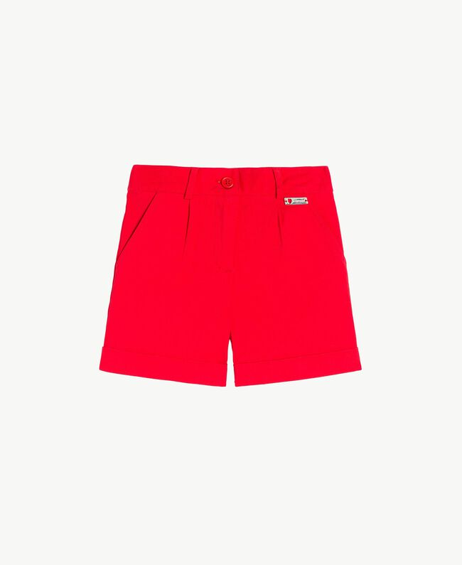 Turn-up shorts Pomegranate Red Child FS82HN-01