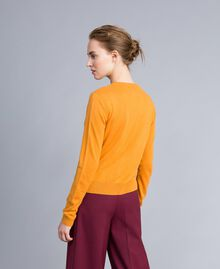 Silk and cashmere mandarin collar top Brandy Woman PA83GF-03