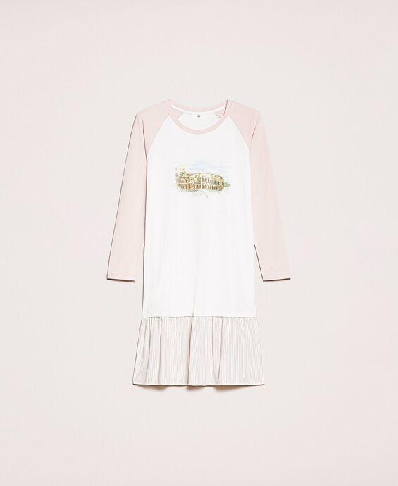Ночная рубашка с оборкой