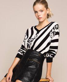 Short en similicuir zippé Noir Femme 201TP241B-0T