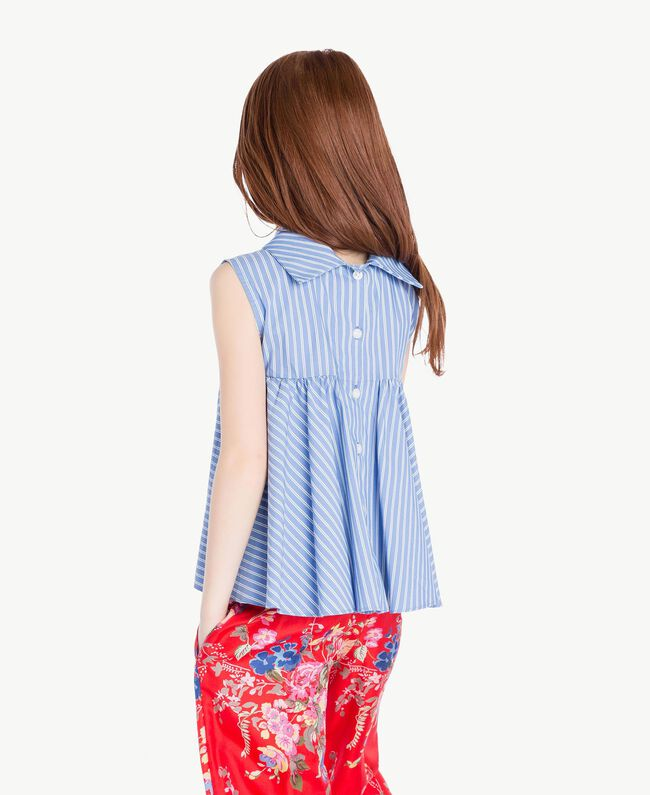 Striped top Infinite Light Blue Jacquard Child GS82LR-04