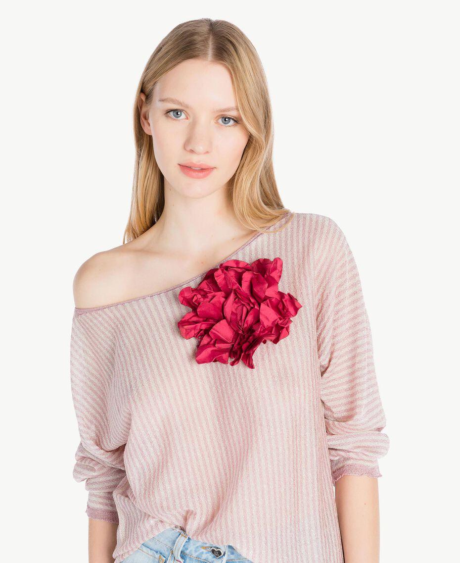 Broche fleur Turquoise Femme AS8P71-02