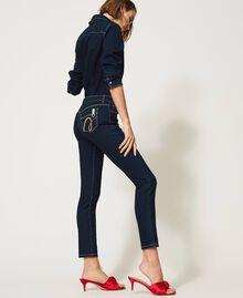 """'Vega"""" skinny jeans Dark Denim Woman 211MT2383-02"""