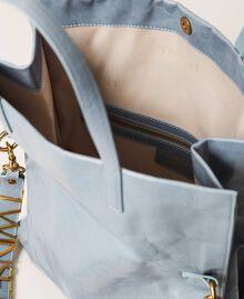 Foldable Twinset Bag leather shopper Black Woman 202TB7099-05