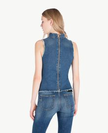 Denim top Denim Blue Woman JS82T3-03