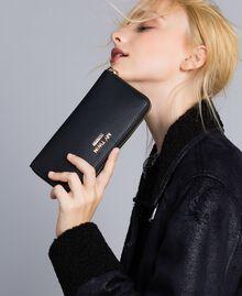 Portefeuille en similicuir Noir Femme VA8PA5-0S