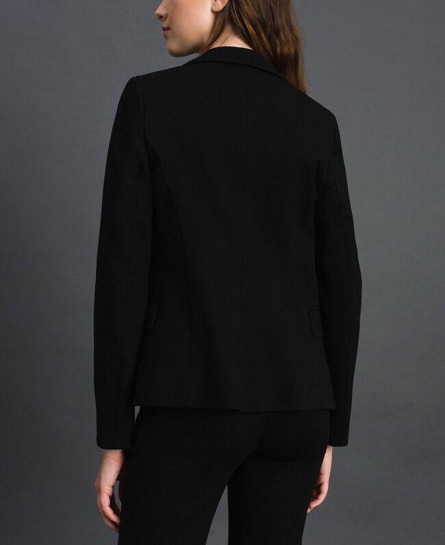 Giacca blazer monopetto Nero Donna 192TP2083-03
