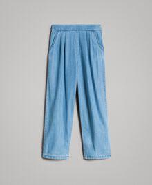 Pantalon en denim souple Jean Doux Enfant 191GJ2560-01