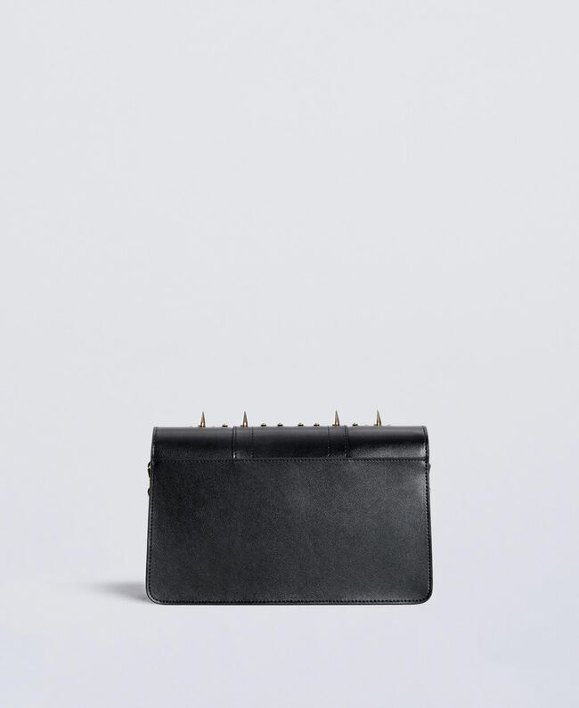 Studded clutch bag Black Woman OS8TLB-03