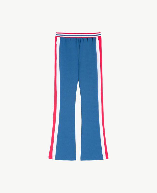 Hose aus Scuba Dallas Blue Frau LS82DD-01
