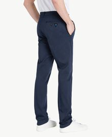 Pantalon chino Bleu Blackout Homme US824N-03