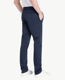 Pantalone chino Blu Blackout Uomo US824N-03