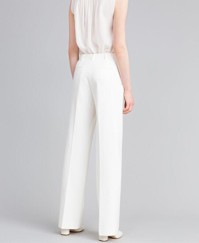 Milan stitch trousers White Snow Woman PA8218-03