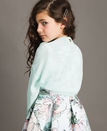 Coprispalle in georgette Chantilly Bambina 191GJ2Q60-0S