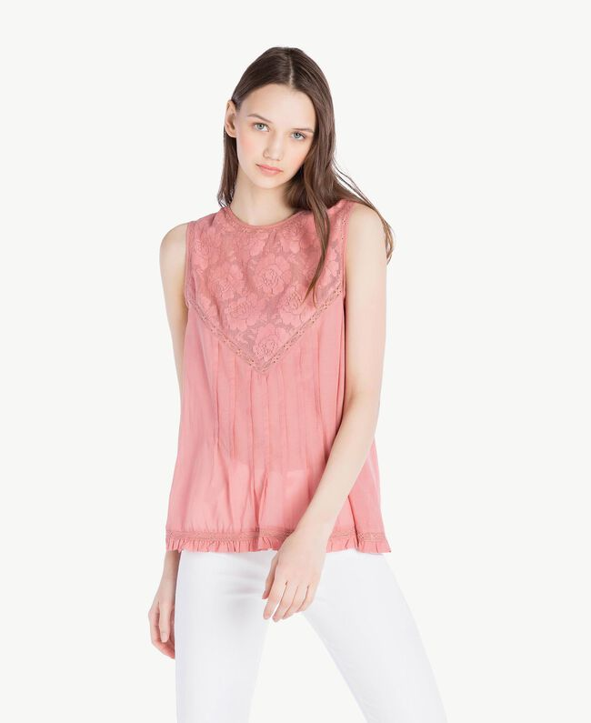 Muslin top Old Rose Woman SS82HN-01