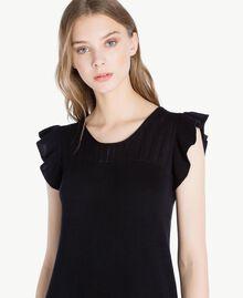 Robe ajourée Noir Femme PS8311-04