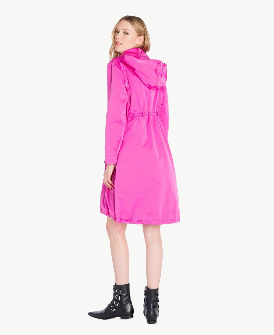 Technical fabric parka Fuxia Woman PS82J4-03