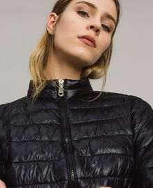 Quilted puffer jacket Black Woman 191LL24CC-04