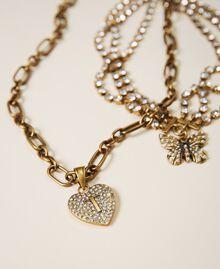 Collier ras-de-cou avec pendentifs Cristal Femme 202TO5047-01
