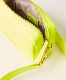 "Padded shoulder bag ""Led"" Yellow Woman 211TD8050-05"