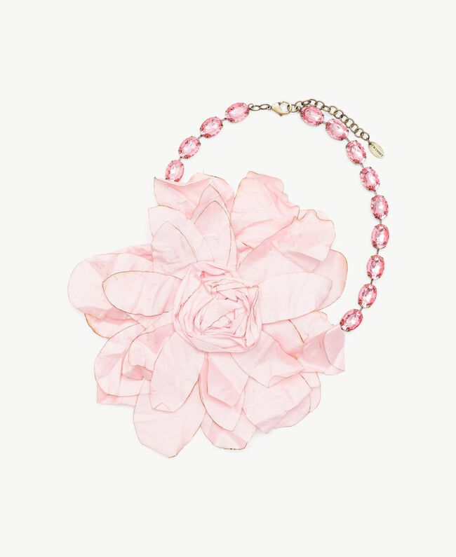 Flower necklace Hydrangea Pink Woman AS8P72-01