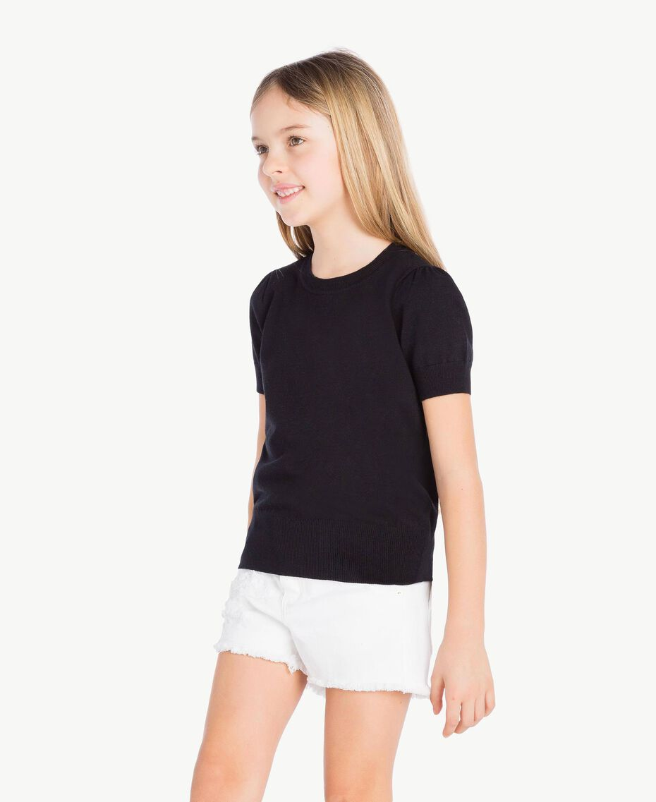 Viscose top Black Child GS83GA-03