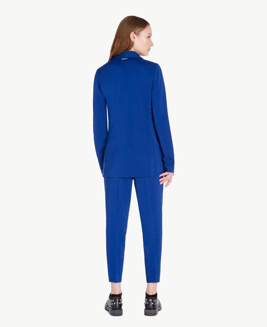 Pantalon cigarette slouchy Bleu Bleuprint Femelle PA72TA-03