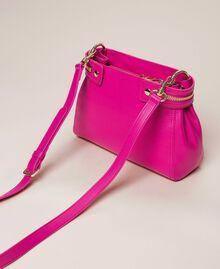 Kleine New Cécile Bag aus Lederimitat Schwarz Frau 201TO8181-03