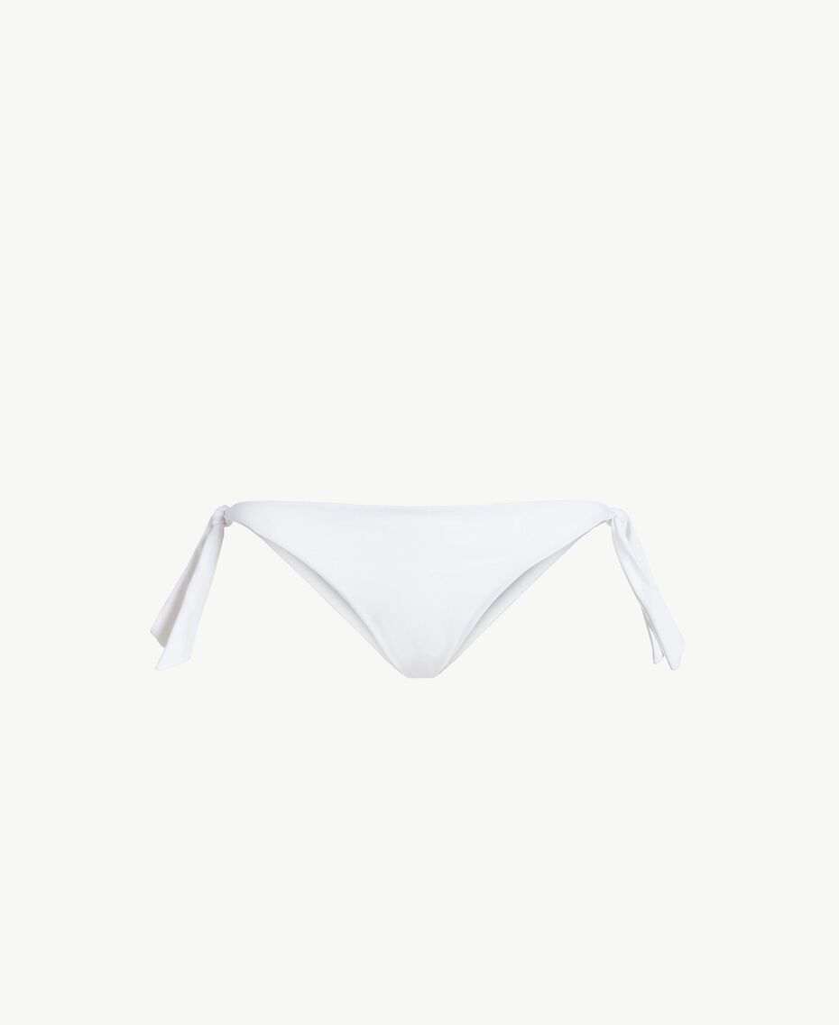 Bow tanga White Woman BS8288-01