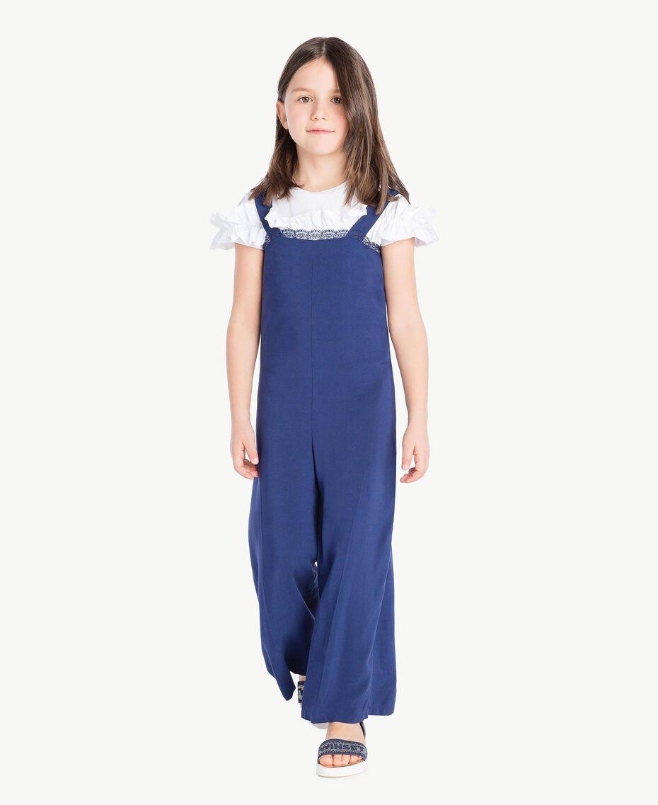 Bow jumpsuit Ocean Blue Child GS82VN-02
