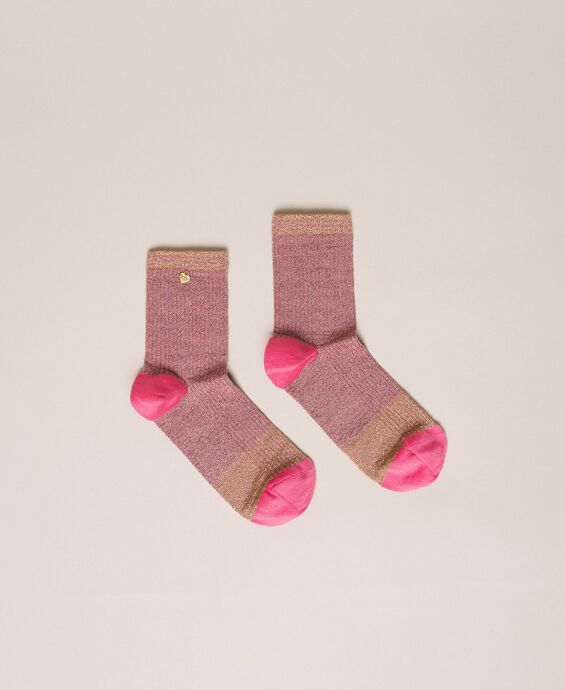 Short lurex socks