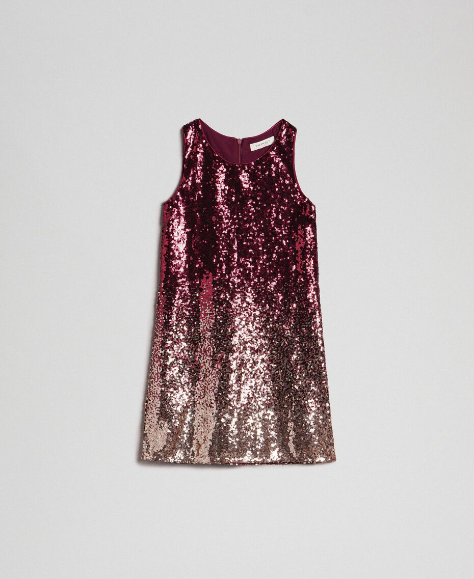 Fadeout sequin dress Fadeout Ruby Red Child 192GJ209A-0S