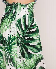 Hose mit Print Print Tropical Tupfen Grün Kind 201GJ2304-04