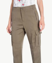 Twill trousers Alpine Green JA72HQ-04