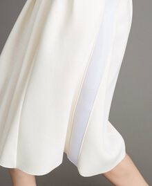 "Full scuba skirt ""Silk"" White Woman 191TP2065-04"