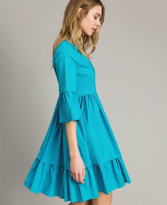 Popeline-Kleid