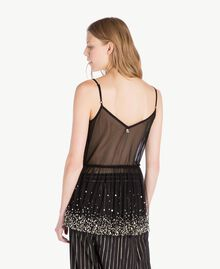 Tulle top Black Woman TS82EH-03