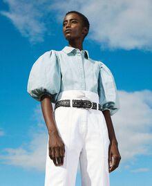 Camicia in jeans Denim Chiaro Donna 211TT2373-01