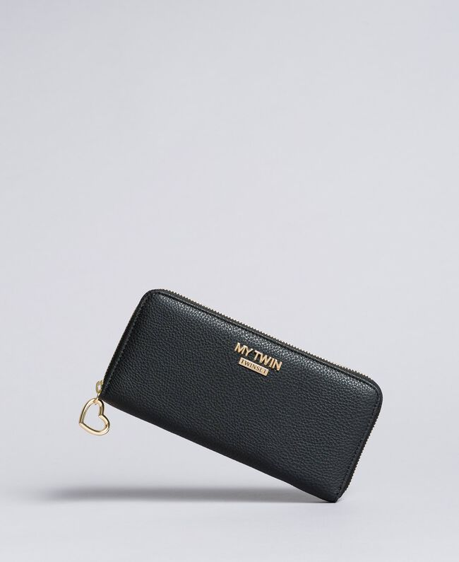 Portefeuille en similicuir Noir Femme VA8PA5-01