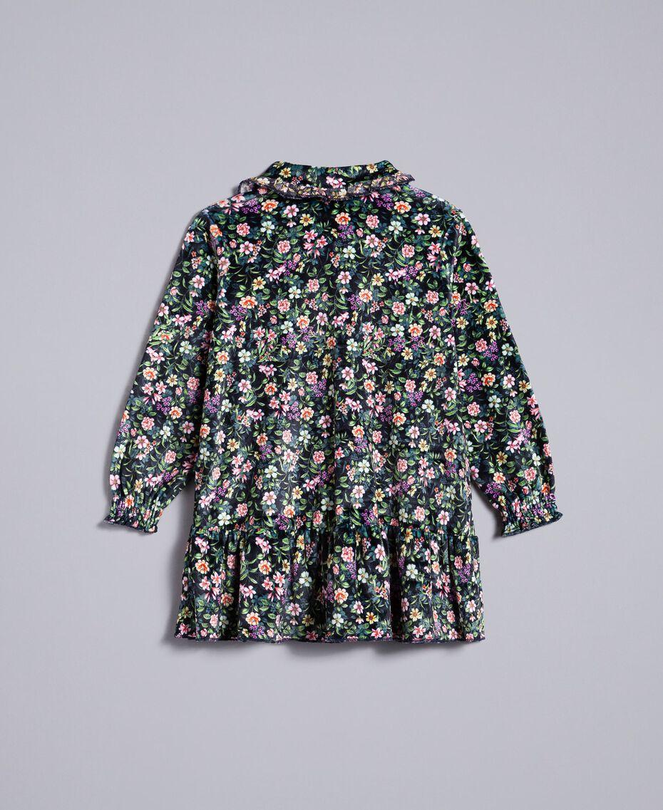 Платье с набивным цветочным рисунком Набивной Мелкий Цветок Pебенок FA82TB-0S