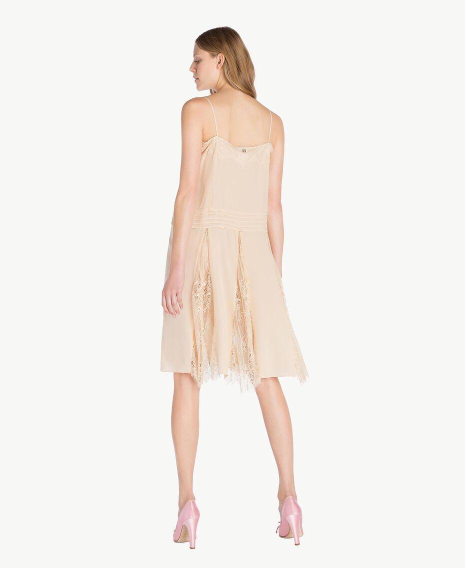 Silk dress Ecrù Woman PS82EC-03
