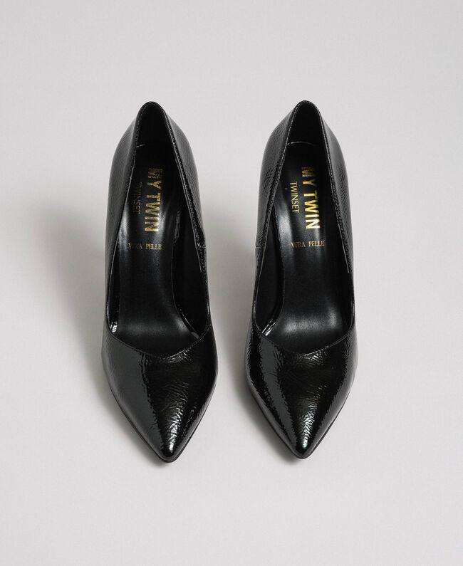 Escarpins vernis Noir Femme 192MCP038-05