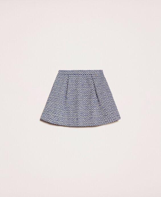 Mini-jupe bouclée