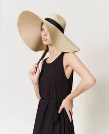 Cappello in paglia a tesa larga Paglia Donna 211TO5091-0S