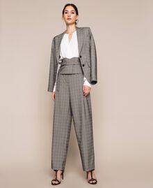 Glen plaid trousers Multicolour Glen Plaid Woman 201MP2062-0T