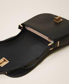 Leather shoulder bag Black Woman 202TD8041-05