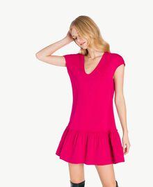 """Kleid mit Volant """"Anemonen""""-Fuchsia PA72TG-01"""