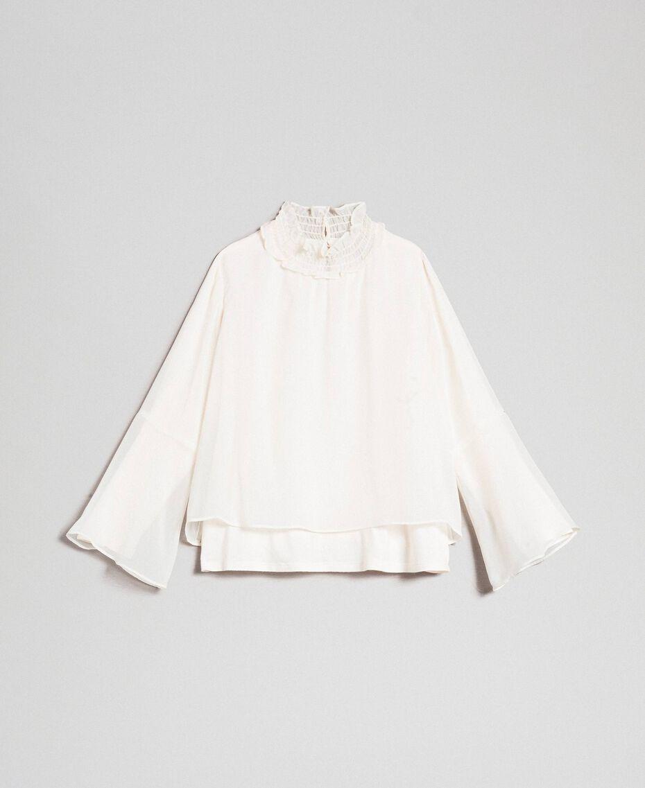 Bluse aus Georgette Chantily Kind 192GJ2351-0S