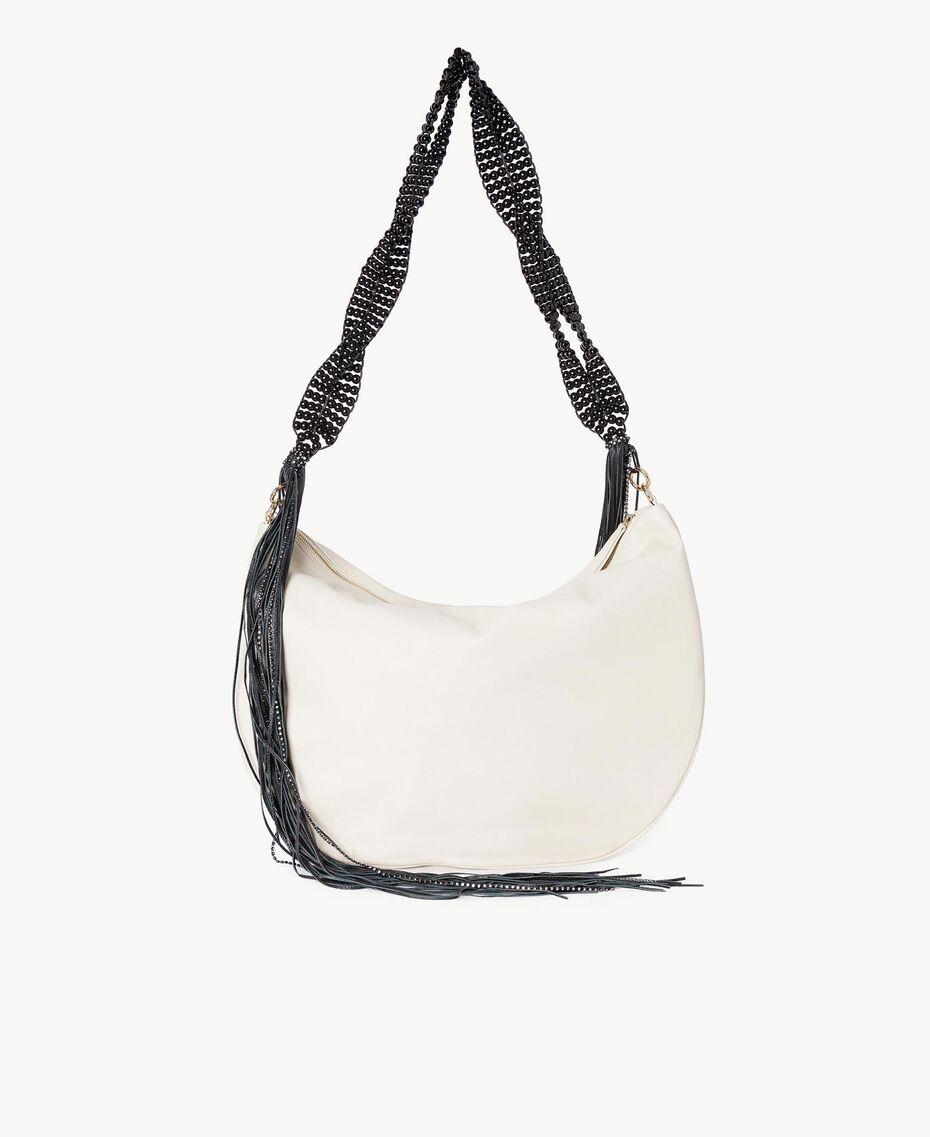 TWINSET Hobo-Tasche mit Fransen Dune Frau OS8TDA-03